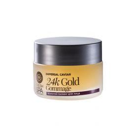 24k Gold Face Peel, Χρυσό Peel Προσώπου 50ml, (Κατάλληλο για ηλικίες 30-35+) - Natura Siberica