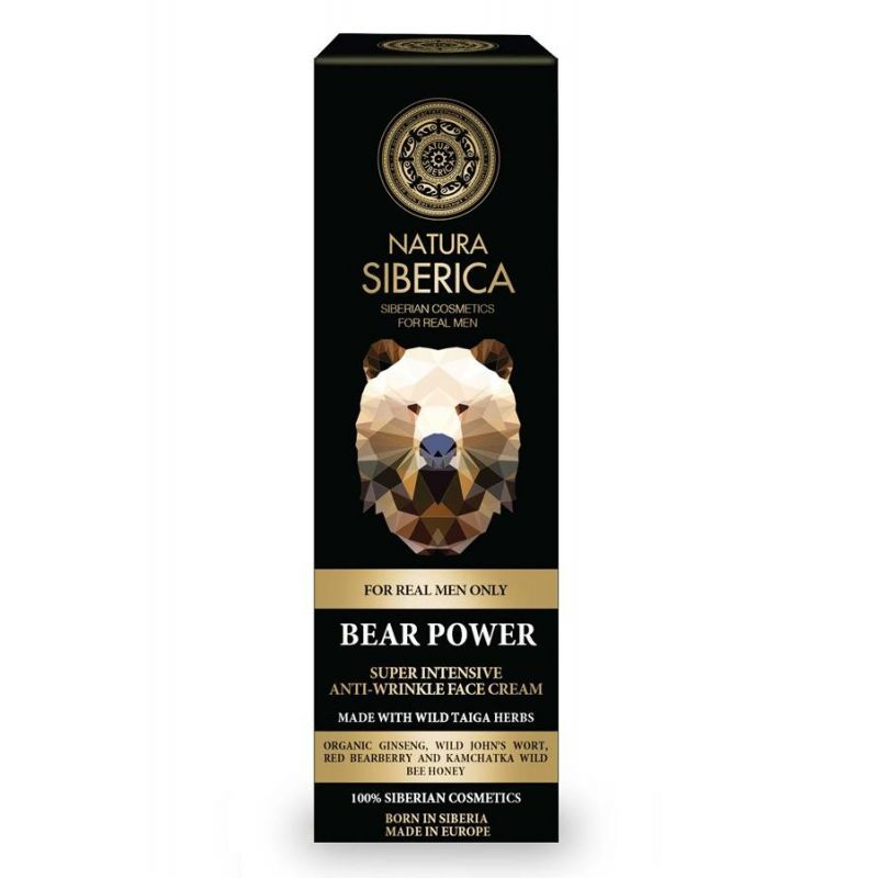 Bear Power intensive anti-wrinkle face cream, Σούπερ Εντατική Αντιρυτιδική κρέμα προσώπου, 50ml - Natura Siberica