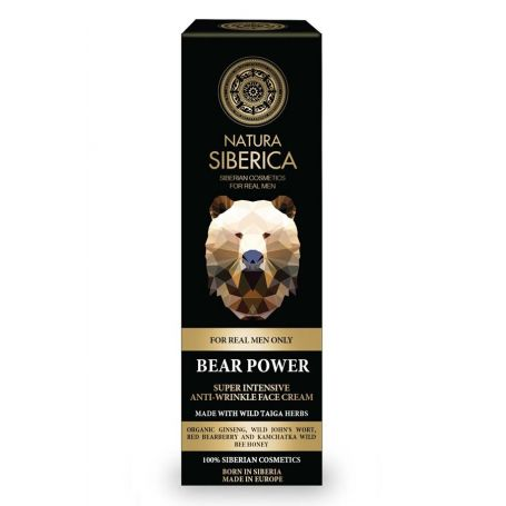 Bear Power intensive anti-wrinkle face cream