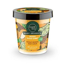 Body Desserts Mango Sugar Sorbet , Απολεπιστικό σώματος άμεσης ανανέωσης , 450ml - Natura Siberica