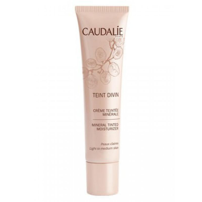 Caudalie Teint Divin Tinted Moisturizer Light To Medium Skin -PharmacyStories