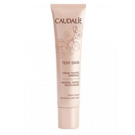 Caudalie Teint Divin Tinted Moisturizer Medium to Dark Skin -PharmacyStories