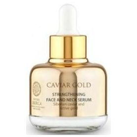 Caviar Gold Ορός ενίσχυσης για πρόσωπο και λαιμό, 30 ml (Κατάλληλο για ηλικίες 30-40) - Natura Siberica