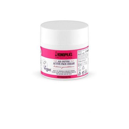 Dr.Konopka´s Ενεργή αντιγηραντική κρέμα προσώπου, για ώριμες και ξηρές επιδερμίδες, 50 ml - Natura Siberica