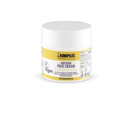 Dr.Konopka´s Καταπραϋντική κρέμα προσώπου, για ευαίσθητες επιδερμίδες, 50 ml - Natura Siberica