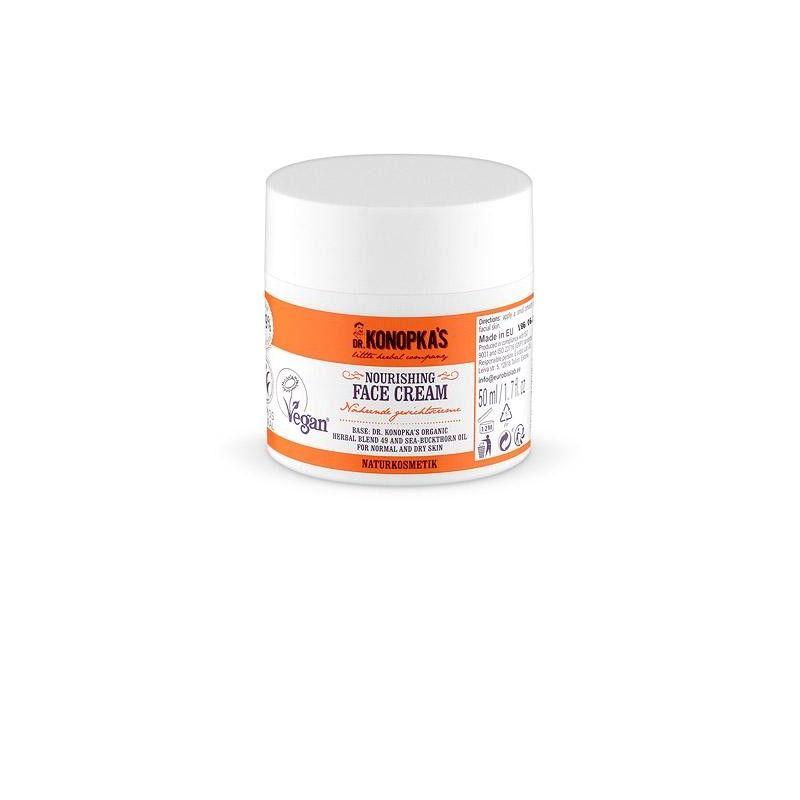 Dr.Konopka´s Κρέμα θρέψης πρoσώπου,για κανονικές και ξηρές επιδερμίδες, 50 ml - Natura Siberica