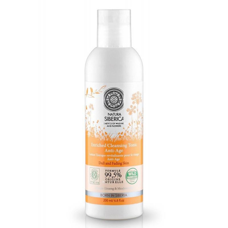 Enriched Cleansing Tonic Anti-Age - Natura Siberica Greece -Natura Siberica - PharmacyStories