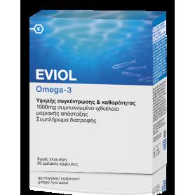 Eviol Omega-3 1000mg 30 μαλακές κάψουλες - Eviol
