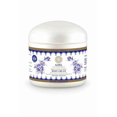 Gzel, Rejuvinating body cream, Σύσφιξη και Αποκατάσταση Κρέμα Σώματος 370ml - Natura Siberica