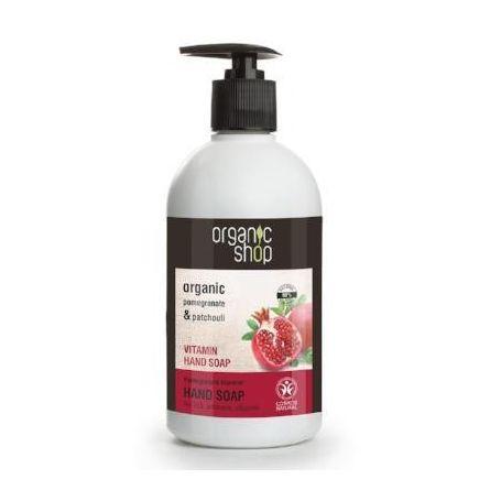 Hand Soap, Βιταμινούχο σαπούνι χεριών Ρόδι, 500ml - Natura Siberica