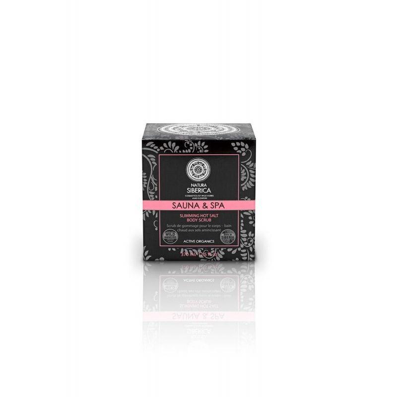 Hot Salt Scrub, Ζεστά Άλατα σε Scrub για Αδυνάτισμα-Σύσφιξη-Κυτταρίτιδα, 370 ml - Natura Siberica
