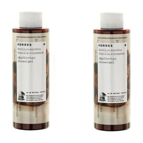 KORRES 1+1 ΔΩΡΟ Βανίλια Κανέλα Απολαυστικό Αφρόλουτρο σαν Καραμέλα Βουτύρου 250ml + 250ml -Pharmacystories