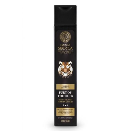 Energy Shampoo for Body and Hair Fury of the Tiger-Natura Siberica Greece -Natura Siberica -Pharmacystories
