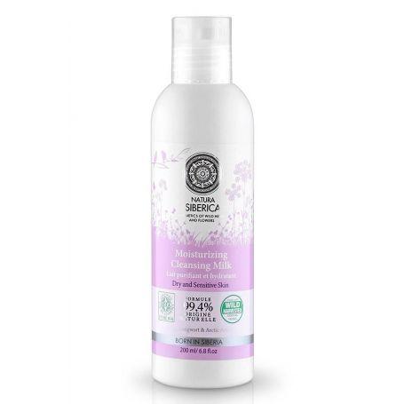 Moisturizing Cleansing Milk, Ενυδατικό Καθαριστικό, Ξηρό και Ευαίσθητο Δέρμα, 200 ml - Natura Siberica