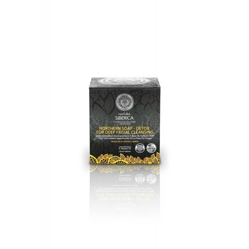 Northern soap for deep facial cleansing, για Βαθύ Καθαρισμό, για όλους τους τύπους δέρματος, 120 ml - Natura Siberica