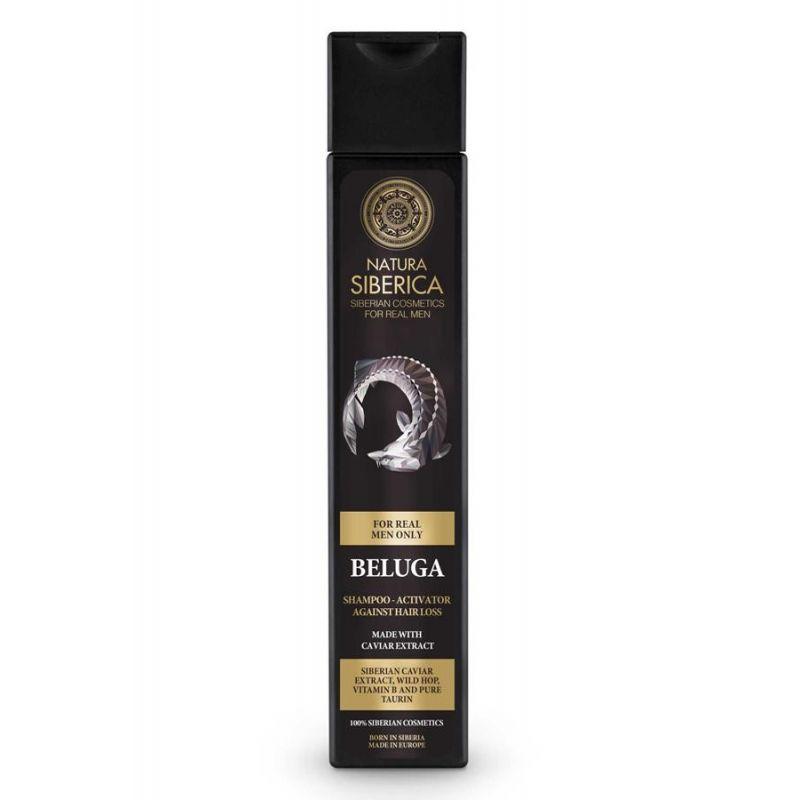 NS MEN Hair Growth Shampoo-Activator Beluga-Natura Siberica Greece -Natura Siberica -Pharmacystories