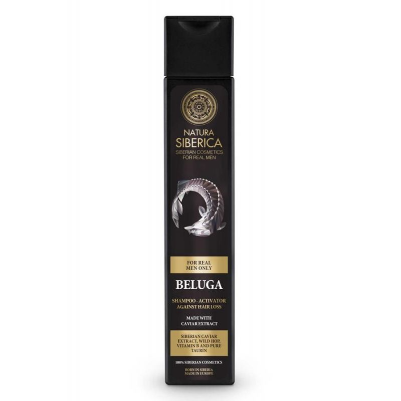 NS MEN Hair Growth Shampoo-Activator Beluga, Σαμπουάν κατά της τριχόπτωσης, 250 ml - Natura Siberica