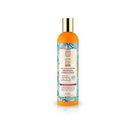 Oblepikha Conditioner Βαθύς καθαρισμός και Φροντίδα. Για κανονικά και λιπαρά μαλλιά 400ml - Natura Siberica