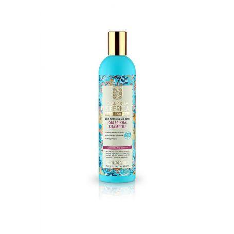 Oblepikha Shampoo για Βαθύ καθαρισμό και Φροντίδα - Natura Siberica Greece -Natura Siberica - PharmacyStories