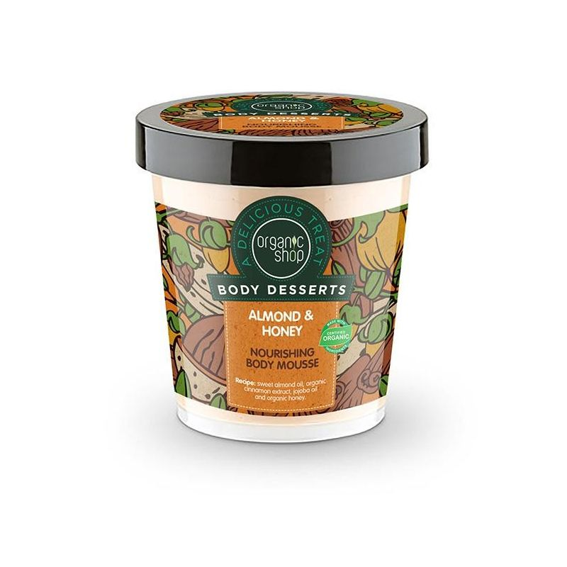 Organic Shop Body Dessert Almond & Honey-Natura Siberica-Naturasiberica-Pharmacystories