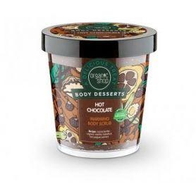 Body Desserts Hot Chocolate (Ζεστή σοκολάτα) Θερμαντικό απολεπιστικό σώματος, 450ml - Natura Siberica