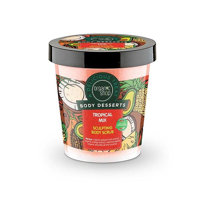 Body Desserts Tropical Mix Απολεπιστικό σώματος για σμίλευση, 450 ml - Natura Siberica