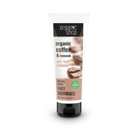 Organic Shop Απαλό Scrub Προσώπου Morning Coffee, 75 ml - Natura Siberica