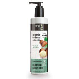 Organic macadamia & avocado , wellness shower gel -Natura Siberica Greece -Natura Siberica -PharmacyStories