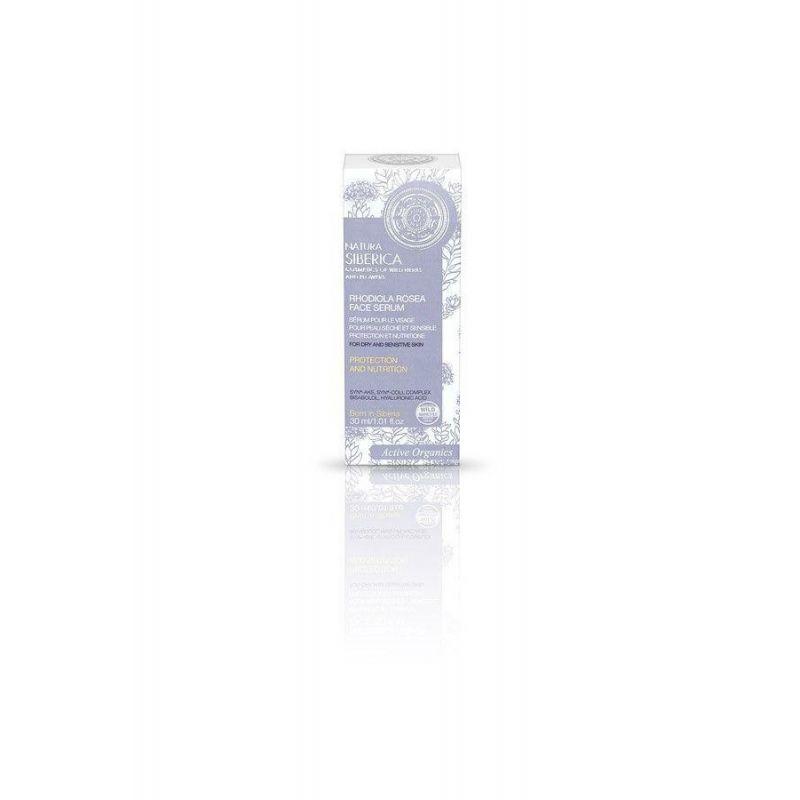 Rhodiola Rosea Face Serum, Θρέψη για Ξηρές και Ευαίσθητες επιδερμίδες, 30 ml (για όλες τις ηλικίες) - Natura Siberica