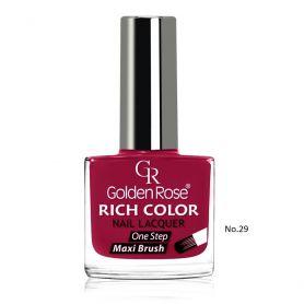 Golden Rose Rich Color Nail Lacquer 10,5ml - Golden Rose