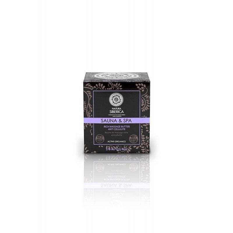 Rich Massage Butter, Πλούσιο Βούτυρο για μασάζ κατά της κυτταρίτιδας, 370 ml - Natura Siberica