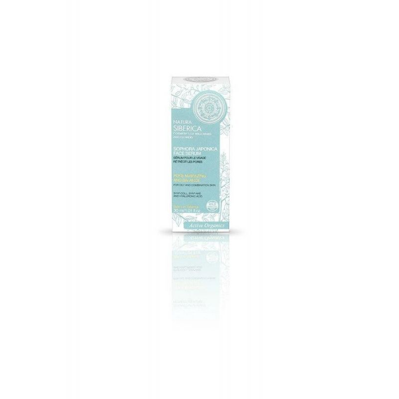 Sophora Japonica Face Serum,για Λιπαρές και Μικτές Επιδερμίδες,30 ml(για όλες τις ηλικίες) - Natura Siberica