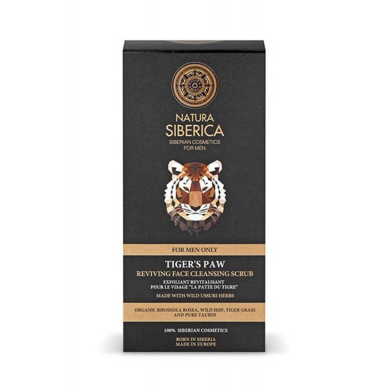 Tiger's Paw Αναζωογονητικό Καθαριστικό Scrub Προσώπου, 150ml - Natura Siberica