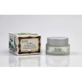 Αντιγηραντική κρέμα νυκτός με γάλα γαϊδούρας-Sostar 50ml Pharmacystories