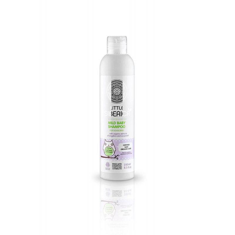 Little Siberica Mild baby shampoo , Ήπιο σαμπουάν για νεογνά 0+, 250ml -PharmacyStories