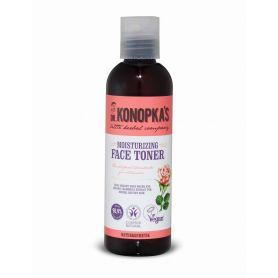 Dr.Konopka's Ενυδατική τονωτική λοσιόν προσώπου , για κανονικές και ξηρές επιδερμίδες, 200 ml - Natura Siberica