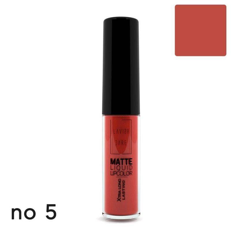 Lavish Care Matte Liquid Lipcolor - No 5 - Lavish Care
