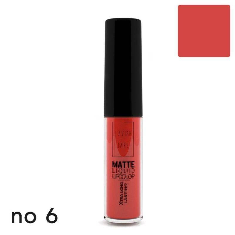 Lavish Care Matte Liquid Lipcolor - No 6 - Lavish Care