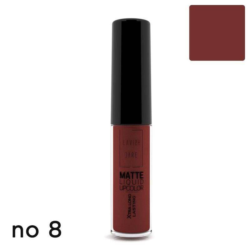 Lavish Care Matte Liquid Lipcolor - No 8 - Lavish Care