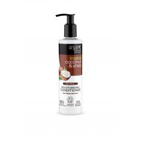 Organic Coconut&Shea , Οργανική Καρύδα & Βούτυρο Καριτέ - Conditioner Ενυδάτωσης , Απαλότητα & Αναζωογόννηση , 280ml. - Natur...