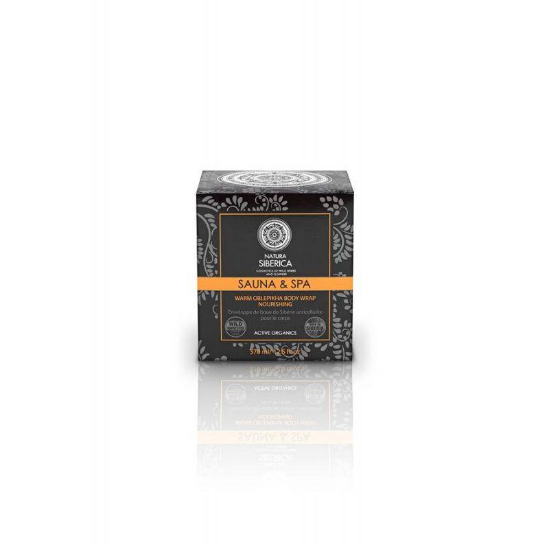 Warm Oblepikha Body Wrap, Θρέψη και Αναζωογόνηση, 370 ml - Natura Siberica