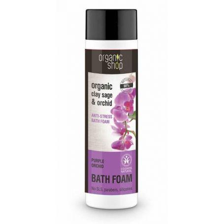Purple Orchid, Bath Foam , Αφρόλουτρο Φασκόμηλο & Ορχιδέα - Natura Siberica Greece -Natura Siberica -PharmacyStories