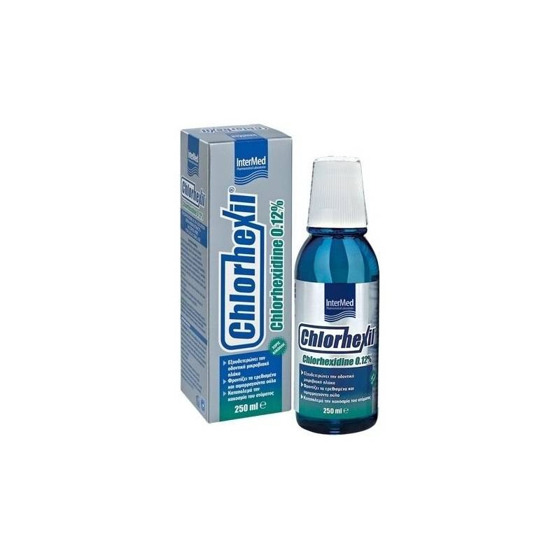 Chlorhexil 0,12% στοματικό διάλυμα 250ml - Intermed