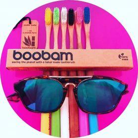 Boobambrush Οδοντόβουρτσα Κίτρινη - Boobam