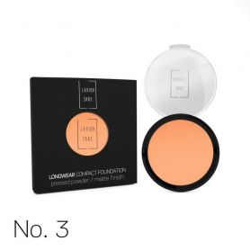Longwear Compact Foundation Pressed Powder / Matte Finish  Lavish Care -PharmacyStories