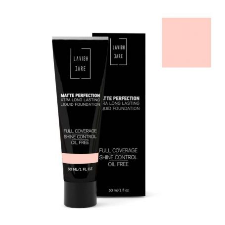 Lavish Care Matte Perfection - No3 XTRA Long Lasting Liquid Foundation 30ml - Lavish Care