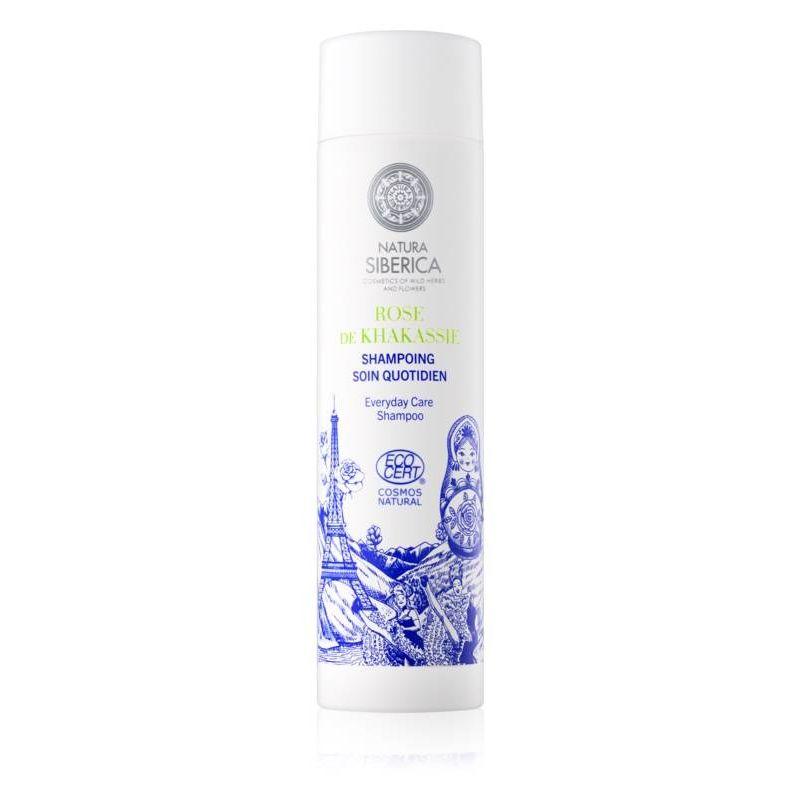 Siberie Mon Amour KHAKASSIA ROSE, Σαμπουάν Καθημερινής Περιποίησης, Για όλους τους τύπους μαλλιών, 250 ml. - Natura Siberica