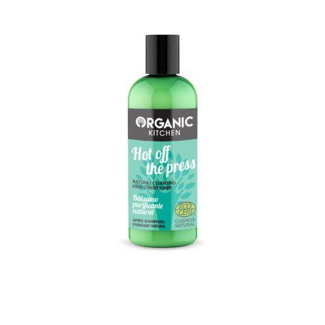 Organic Kitchen Hot off the press, Φυσικό conditioner καθαρισμού, για όγκο ενυδάτωση και ενδυνάμωση, 260ml - Natura Siberica