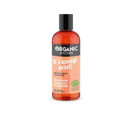 Organic Kitchen It´s soooap sweet!, Φυσικό υπέροχο φρουτώδες αφρόλουτρο, για θρέψη και ενυδάτωση, 260ml