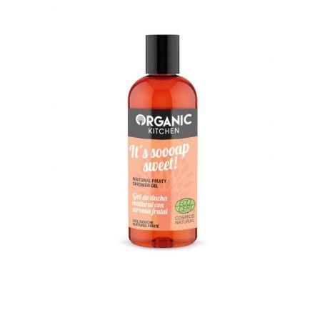 Organic Kitchen It´s soooap sweet!, Φυσικό υπέροχο φρουτώδες αφρόλουτρο, για θρέψη και ενυδάτωση, 260ml - Natura Siberica